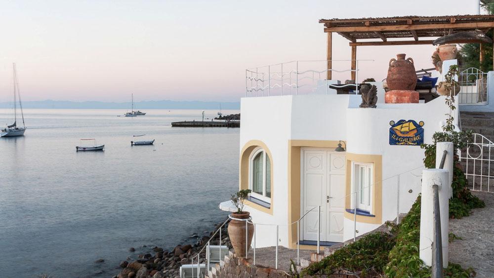 Villa Il Galeone, Panarea Aeolian Islands
